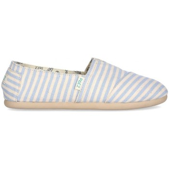 Sapatos Mulher Alpargatas Paez Alpargatas Original Gum W Surfy Lurex Light Blue Multicolor