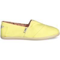 Sapatos Mulher Alpargatas Paez Alpargatas Original Gum W Combi Yellow Amarelo