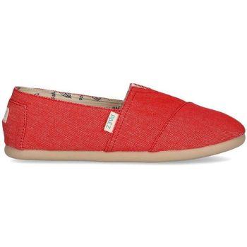 Sapatos Mulher Alpargatas Paez Alpargatas Original Raw W Essential Coral Vermelho