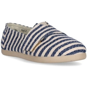 Sapatos Criança Alpargatas Paez Alpargatas Criança Original Gum Surfy Lurex Silver Multicolor