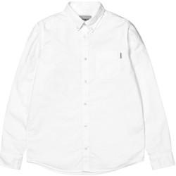 Textil Homem Camisas mangas comprida Carhartt Camisa LS Button Down Pocket White Branco