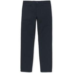Textil Homem Chinos Carhartt Calças Sid Dark Navy Azul