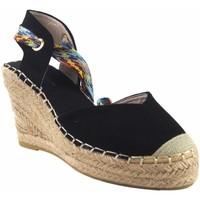 Sapatos Mulher Alpargatas Olivina Sapato de senhora BEBY 19070 preto Preto