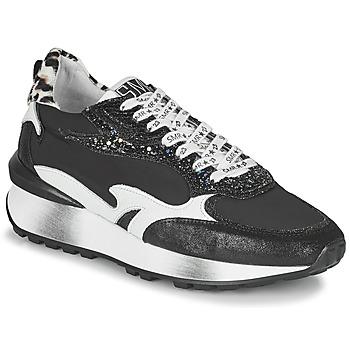 Sapatos Mulher Sapatilhas Semerdjian MARI Preto / Branco