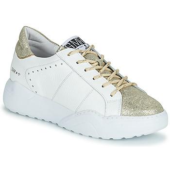 Sapatos Mulher Sapatilhas Semerdjian KYLE Branco / Ouro