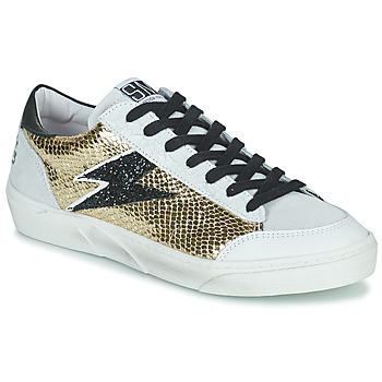 Sapatos Mulher Sapatilhas Semerdjian ELISE Bege / Ouro / Preto