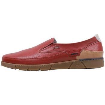 Sapatos Homem Mocassins Fluchos  Vermelho