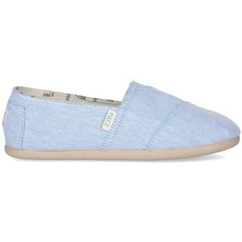 Sapatos Mulher Alpargatas Paez Alpargatas Original Gum W Combi Light Blue Azul