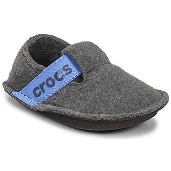 Sapatos Criança Chinelos Crocs CLASSIC SLIPPER K Cinza / Azul