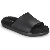 Sapatos Mulher chinelos Melissa MELISSA FLUFFY SIDE AD Preto