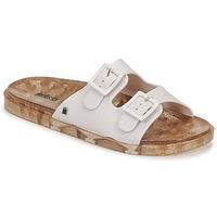 Sapatos Mulher Chinelos Melissa MELISSA WIDE AD Branco