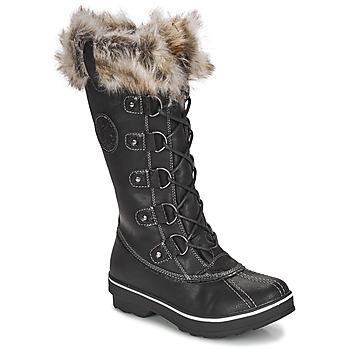 Sapatos Mulher Botas de neve Kimberfeel BEVERLY Preto