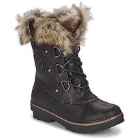 Sapatos Mulher Botas de neve Kimberfeel CAMILLE Preto