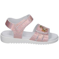Sapatos Rapariga Sandálias Lelli Kelly - Sandalo rosa/arg LK 1506 ROSA-ARGENTO