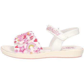 Sapatos Rapaz Sapatos aquáticos Lelli Kelly - Sandalo bianco LK 7400 BIANCO