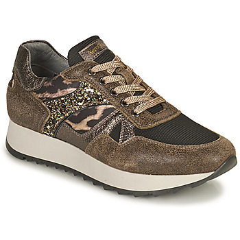 Sapatos Mulher Sapatilhas NeroGiardini  Cáqui / Leopardo