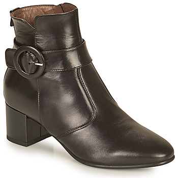Sapatos Mulher Botins NeroGiardini BLETTO Preto