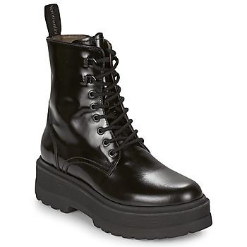 Sapatos Mulher Botas baixas NeroGiardini BETTERAVO Preto