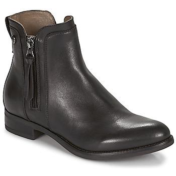 Sapatos Mulher Botas baixas NeroGiardini ECHALOTO Preto