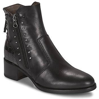 Sapatos Mulher Botins NeroGiardini ENDIVO Preto