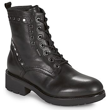 Sapatos Mulher Botas baixas NeroGiardini MANIOCO Preto
