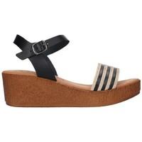 Sapatos Mulher Sandálias Lola Rico 911 Mujer Negro noir
