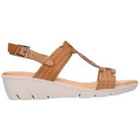 Sapatos Mulher Sandálias Valeria's 7022 encina Mujer Cuero marron