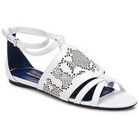 Sapatos Mulher Sandálias Roberto Cavalli TPS918 Branco
