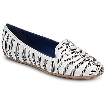 Sapatos Mulher Mocassins Roberto Cavalli TPS648 Branco