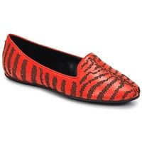 Sapatos Mulher Mocassins Roberto Cavalli TPS648 Vermelho