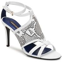 Sapatos Mulher Sandálias Roberto Cavalli TPS016 Branco