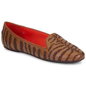Sapatos Mulher Mocassins Roberto Cavalli TPS648 Castanho