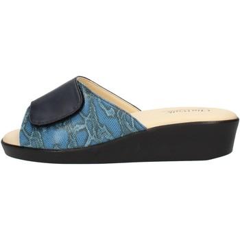 Sapatos Mulher Chinelos Clia Walk COMFORT310 Azul
