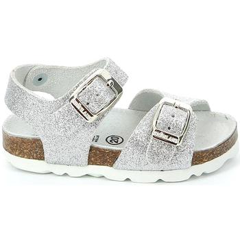Sapatos Criança Sandálias Grunland SB0024 Cinzento