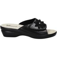 Sapatos Mulher Chinelos Susimoda 1699 Preto