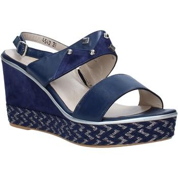 Sapatos Mulher Sandálias Melluso HR70814 Azul