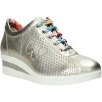 Sapatos Mulher Sapatilhas Melluso HR20110 Ouro