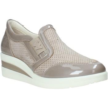 Sapatos Mulher Slip on Melluso R2180X Bege