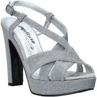 Sapatos Mulher Sandálias Melluso HJ440 Prata