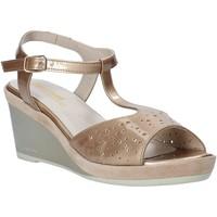 Sapatos Mulher Sandálias Melluso HR70520 Ouro