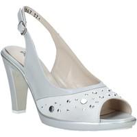 Sapatos Mulher Sandálias Melluso HR50131 Cinzento