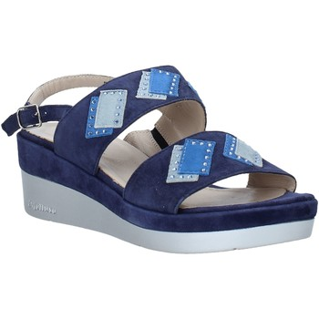 Sapatos Mulher Sandálias Melluso HR70717 Azul