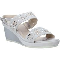 Sapatos Mulher Sandálias Melluso HR70512 Cinzento