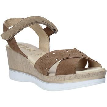 Sapatos Mulher Sandálias Melluso .037064F Castanho