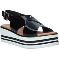 Sapatos Mulher Sandálias Melluso 09603X Preto