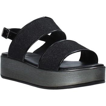 Sapatos Mulher Sandálias Melluso 09620X Preto