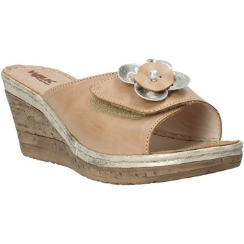 Sapatos Mulher Chinelos Melluso H019057 Bege