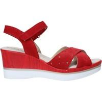 Sapatos Mulher Sandálias Melluso 037064F Vermelho