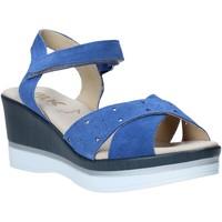 Sapatos Mulher Sandálias Melluso .037064F Azul