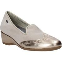 Sapatos Mulher Mocassins Melluso H08121 Bege